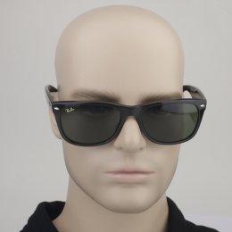 Óculos de Sol Ray-Ban Wayfarer Armação Acetato Preta Lente Verde Comum Sem  Plaquetas 0rb2132ll e7581b13b9