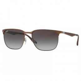 4d4d9100c9c35 Óculos de Sol Ray-Ban Quadrado Armação Metal Cobre Lente Preta Degradê Com  Plaquetas 0rb3569
