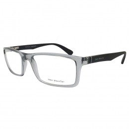 ea36698f8330e Óculos de Grau Jean Monnier Retangular Acetato Cinza Aro Fechado Sem  Plaquetas 0j83150 e088 55