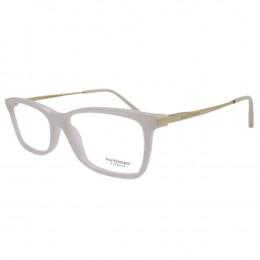 Óculos de Grau Ana Hickmann Retangular Acetato Branca Aro Fechado Sem  Plaquetas ah6273 e03 87db9dd97a