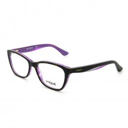 e8049d1081c1d Óculos de Grau Vogue Gatinho Acetato Roxa Aro Fechado Sem Plaquetas 0vo2961  2019 53