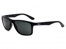 698e08c85bae5 Óculos de Sol Ray-Ban Retangular Armação Acetato Preta Lente Preta Comum Sem  Plaquetas 0rb4234601