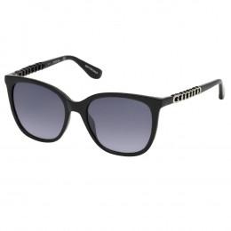 6b9191546f875 Óculos de Sol Guess Redondo Armação Acetato Azul Lente Azul Degradê Sem  Plaquetas gu7545s 5492w