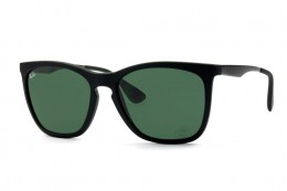 Óculos de Sol Ray-Ban Quadrado Armação Acetato Preta Lente Verde Comum Sem  Plaquetas 0rb4238l622 0090dd0fbe
