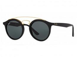 Óculos de Sol Ray-Ban Redondo Armação Acetato Preta Lente Preta Comum Sem  Plaquetas 0rb4256601 11f89c5b5d