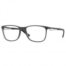 dfdb71528ba93 Óculos de Grau Jean Monnier Quadrado Acetato Cinza Aro Fechado Sem Plaquetas  0j83159 e730 54