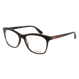dd1a2dea1 Óculos de Grau Guess Wayfarer Acetato Tartaruga Aro Fechado Sem Plaquetas  gu2619_55050