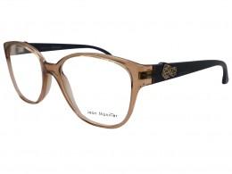 515080276 Óculos de Grau Jean Monnier Quadrado Acetato Marrom Aro Fechado Sem  Plaquetas 0j83157e70953