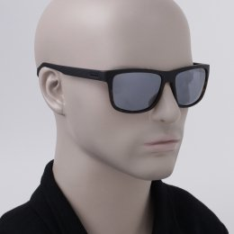 0954140041c7b Óculos de Sol Polaroid Quadrado Armação Acetato Tartaruga Lente Cinza Espelhada  Sem Plaquetas pld 2058