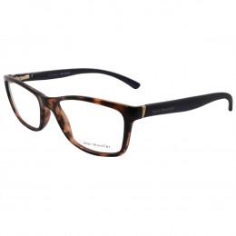 cb914171f35f2 Óculos de Grau Jean Monnier Retangular Acetato Tartaruga Aro Fechado Sem  Plaquetas 0j83130 d124 52