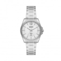 e719b65e1f2 Relógio Orient Caixa Redonda Analógico Metal Prata Pulseira Metal Prata  fbss1111 s2sx
