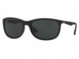 Óculos de Sol Ray-Ban Retangular Armação Acetato Preta Lente Preta Comum  Sem Plaquetas 0rb4267 9b3d18dd13