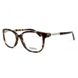 cf23c6a09 Óculos de Grau Guess Redondo Acetato Tartaruga Aro Fechado Sem Plaquetas  gu2560 52052