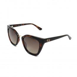 Óculos de Sol Guess Quadrado Armação Acetato Tartaruga Lente Marrom Comum  Sem Plaquetas gu7541 5252x 9d998c631c