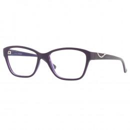a56e57be2daac Óculos de Grau Jean Monnier Gatinho Acetato Roxa Aro Fechado Sem Plaquetas  0j83156 e695 52