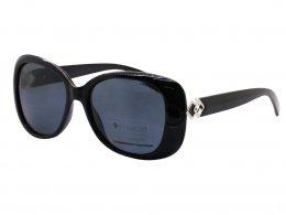 91afd272341f7 Óculos de Sol Polaroid Redondo Armação Acetato Preta Lente Preta Comum Sem  Plaquetas pld 4051