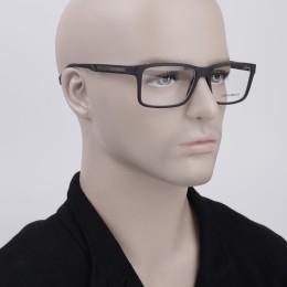 2aa7b95909c4b Óculos de Grau Emporio Armani Quadrado Acetato Preta Aro Fechado Sem  Plaquetas ea3038506356