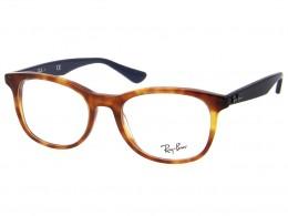 Óculos de Grau Ray-Ban Quadrado Acetato Tartaruga Aro Fechado Sem Plaquetas  0rx5356560952 407531c1ac