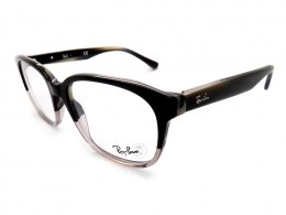 a2b55e834 Óculos de Grau Ray-Ban Quadrado Acetato Preta Aro Fechado Sem Plaquetas  rx5340554053