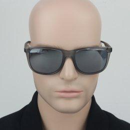 8d242a08bb0f7 Óculos de Sol Armani Exchange Quadrado Armação Acetato Cinza Lente Cinza  Espelhada Sem Plaquetas 0ax4070sl 82396g57