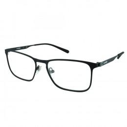 24fe02e3824d9 Óculos de Grau Arnette Quadrado Metal Preta Aro Fechado Com Plaquetas  0an6116696 53