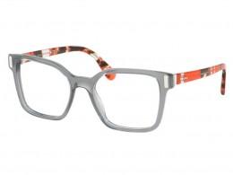 Óculos de Grau Prada Quadrado Acetato Cinza Aro Fechado Sem Plaquetas 0pr  05tvtky1o152 d489ebb7d2