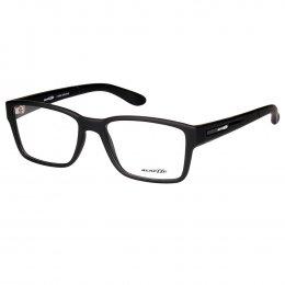 b599c7f969d98 Óculos de Grau Arnette Retangular Acetato Preta Aro Fechado Sem Plaquetas  0an7115l 447 53