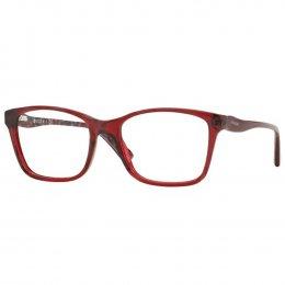 Óculos de Grau Vogue Quadrado Acetato Vermelha Aro Fechado Sem Plaquetas  0vo2907 2257 54 30744908c5