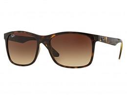 Óculos de Sol Ray-Ban Quadrado Armação Acetato Tartaruga Lente Marrom  Degradê Sem Plaquetas 0rb4232l dc76aa0428