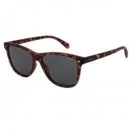 Óculos de Sol Polaroid Quadrado Armação Acetato Tartaruga Lente Preta Comum  Sem Plaquetas pld 6035  4fa646fff6