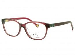 Óculos de Grau Carolina Herrera Gatinho Acetato Vermelha Aro Fechado Sem  Plaquetas vhe5905304gb ea054de944