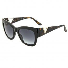 Óculos de Sol Guess Quadrado Armação Acetato Marrom Lente Marrom Comum Sem  Plaquetas gu7495-S 5452F bc861cb244