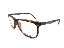 8584e05c4ad45 Óculos de Grau Atitude Quadrado Acetato Tartaruga Aro Fechado Sem Plaquetas  at4000 g21