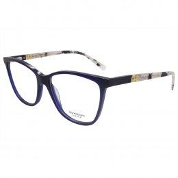 9290a18dd1bd9 Óculos de Grau Ana Hickmann Quadrado Acetato Azul Aro Fechado Sem Plaquetas  ah6313 t03