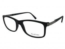 Óculos de Grau Platini Quadrado Acetato Preta Aro Fechado Sem Plaquetas  0p93116d76754 65c2d5e5a2