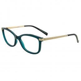 0cf3e276e0b6e Óculos de Grau Grazi Massafera Gatinho Acetato Verde Aro Fechado Sem  Plaquetas 0gz3026b f334 52