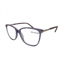 Óculos de Grau Spellbound Redondo Acetato Roxa Aro Fechado Sem Plaquetas sb  16467 2 6a91af2278