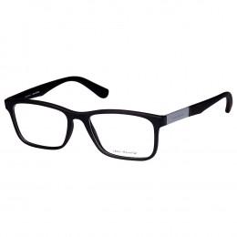 b99921705d82c Óculos de Grau Jean Monnier Retangular Acetato Preta Aro Fechado Sem  Plaquetas 0j83166 f315 54