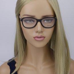 4595218e7fd9e Óculos de Grau Grazi Massafera Quadrado Acetato Preta Aro Fechado Sem  Plaquetas 0gz3021b e096 52