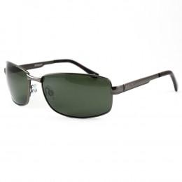 305f05965d63c Óculos de Sol Polaroid Retangular Armação Metal Prata Lente Verde Comum Com  Plaquetas p4416a3x63rcs
