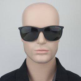 e3ab60c1ebf68 Óculos de Sol Armani Exchange Redondo Armação Plástico Preta Lente Preta  Comum Sem Plaquetas 0ax4047sl 80787157