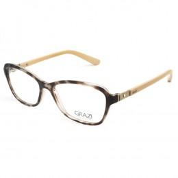 Óculos de Grau Grazi Massafera Quadrado Acetato Tartaruga Aro Fechado Sem  Plaquetas 0gz3028b e40951 053cc29a9d