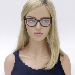 896963e60f096 Óculos de Grau Grazi Massafera Quadrado Acetato Preta Aro Fechado Sem  Plaquetas 0gz3022b e101 53