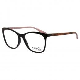 bea07e2994b88 Óculos de Grau Grazi Massafera Quadrado Acetato Marrom Aro Fechado Sem  Plaquetas 0gz3025 e394 53