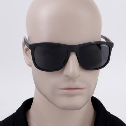 Óculos de Sol Armani Exchange Quadrado Armação Acetato Preto Lente Preta Comum  Sem Plaquetas 0ax4049sl 81828757 c26ff11ee3