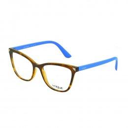 158b77ce626e3 Óculos de Grau Vogue Gatinho Acetato Tartaruga Aro Fechado Sem Plaquetas  0vo5206l w656 53