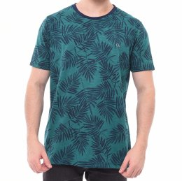 853b8560277 Camiseta Ogochi Estampada Slim Fit Verde