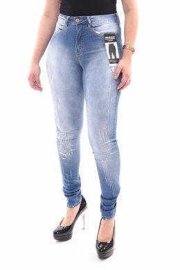 4262082f0 Calça Jeans Lunender Capri Rasgada Chapa Barriga - LM Martins ...