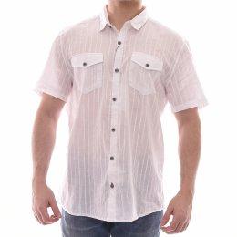 860db18f70a Camisa Ogochi Super Slim Jacquard Lilás - LM Martins - Veste você ...