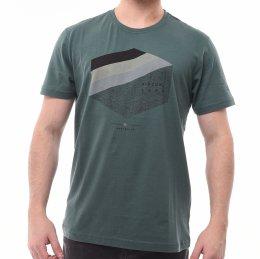 ca64ec0b228 Camiseta Rip Curl Estampa Logo Verde Musgo